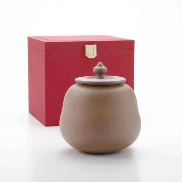 錦盒 老岩泥茶罐