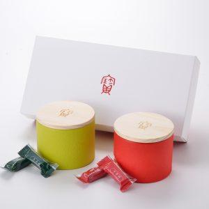 牛茶糖木蓋罐