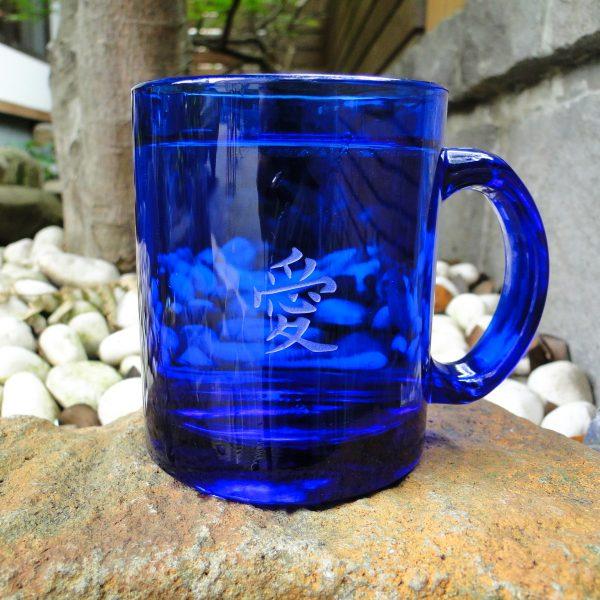 藍色馬克杯 350cc