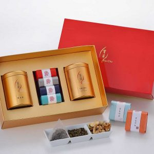 2021 紅折盒 (黑豆 茶 堅果 四方盒) 小圖